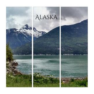 アラスカの密輸業者の入江のSkagwayの写真の記念品 トリプティカ