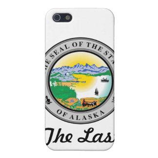アラスカの州のシールおよびモットー iPhone SE/5/5sケース