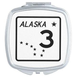アラスカの州のルート3