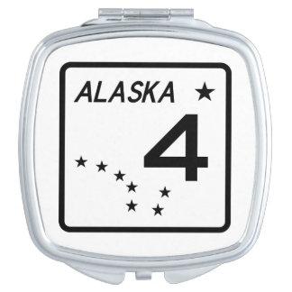 アラスカの州のルート4