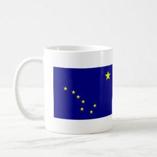 アラスカの州の旗 コーヒーマグカップ