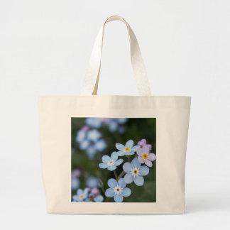 アラスカの州花は私をnots、戦闘状況表示板忘れます ラージトートバッグ