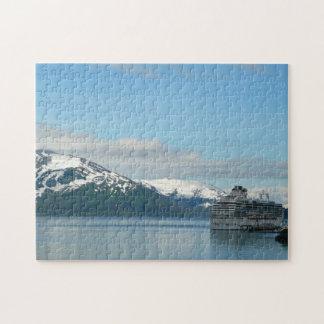 アラスカの巡航の休暇旅行写真撮影 ジグソーパズル