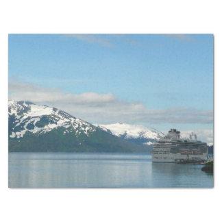 アラスカの巡航の休暇旅行写真撮影 薄葉紙