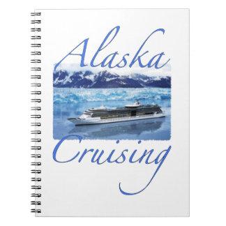 アラスカの巡航ジャーナル ノートブック