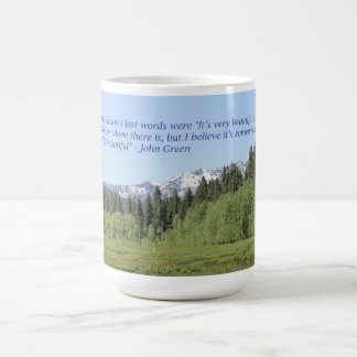 アラスカの引用文を捜すこと コーヒーマグカップ