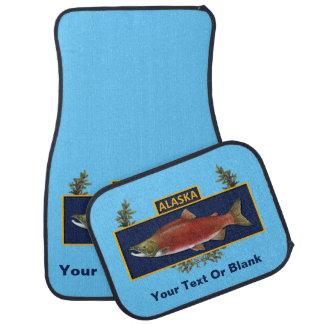 アラスカの戦闘の漁師のバッジ カーマット