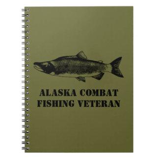 アラスカの戦闘の魚釣りの退役軍人 ノートブック