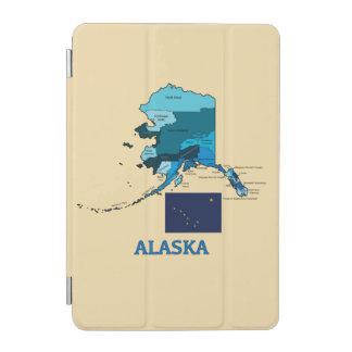 アラスカの旗そして地図 iPad MINIカバー