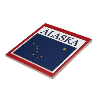 アラスカの旗のデザインのタイル タイル