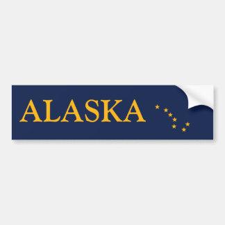 アラスカの旗 バンパーステッカー