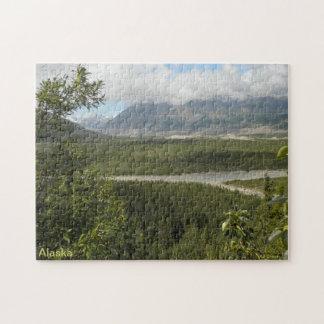 アラスカの景色の眺め ジグソーパズル