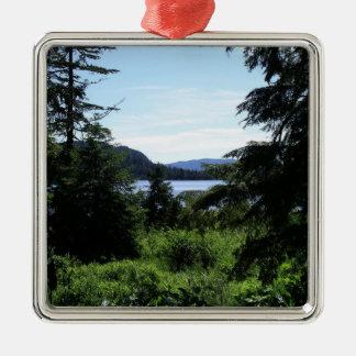 アラスカの景色の美しいアラスカの写真撮影 メタルオーナメント