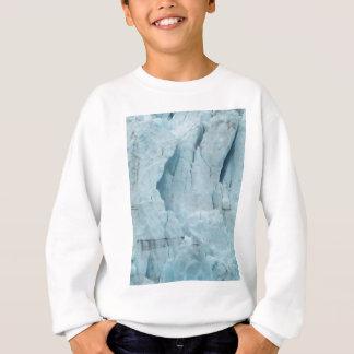 アラスカの氷河2 スウェットシャツ