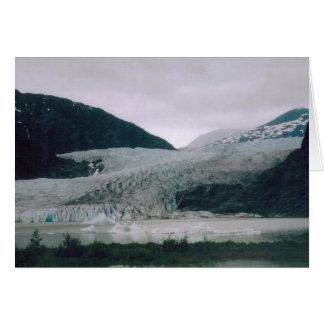 アラスカの氷河 カード
