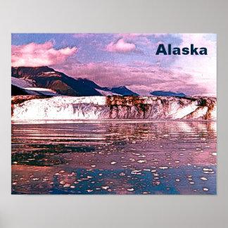 アラスカの氷河 ポスター
