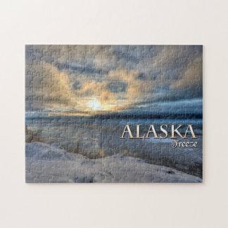 アラスカの氷結 ジグソーパズル