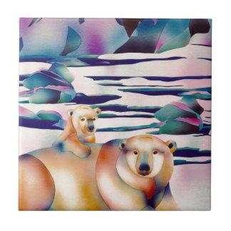 アラスカの精神 正方形タイル小