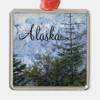 アラスカの美しい メタルオーナメント