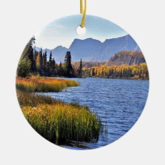 アラスカの荒野 セラミックオーナメント