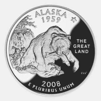 アラスカの証拠2008年(6/20パック) ラウンドシール