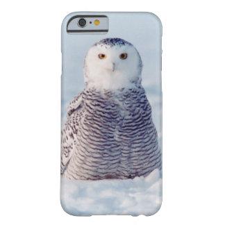 アラスカの野性生物の北極Snowyのフクロウの例 Barely There iPhone 6 ケース