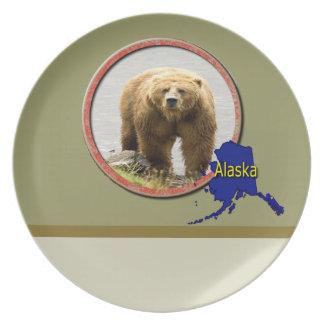 アラスカの野性生物 プレート