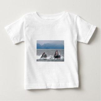 アラスカの野性生物 ベビーTシャツ