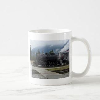 アラスカの鉄道 コーヒーマグカップ