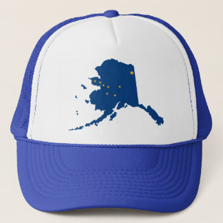 アラスカの青のスナップはトラック運転手の帽子を一致させます キャップ