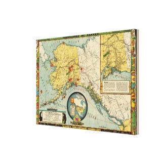 アラスカの領域 キャンバスプリント