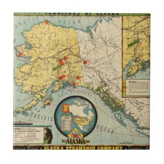 アラスカの領域 正方形タイル小