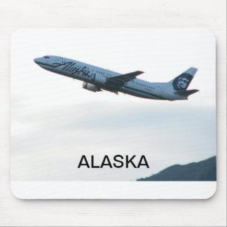 アラスカの飛行機のmousepad マウスパッド