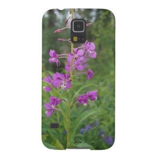 アラスカのFireweedの野生の花 Galaxy S5 ケース