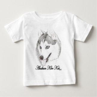 アラスカのKlee Kai ベビーTシャツ