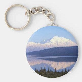 アラスカのMountain.jpg キーホルダー