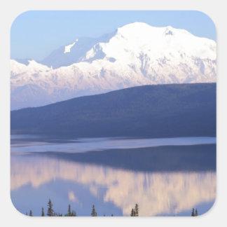 アラスカのMountain.jpg スクエアシール