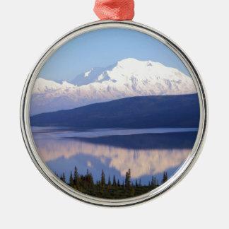 アラスカのMountain.jpg メタルオーナメント