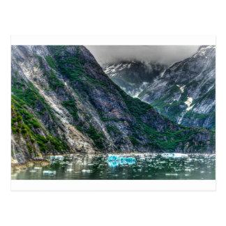 アラスカのTracyの腕のフィヨルド ポストカード