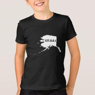 アラスカは家プログラマーです Tシャツ