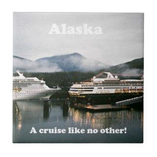 アラスカは、巡航他を好みません! 正方形タイル小