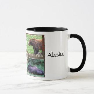 アラスカを発見して下さい マグカップ