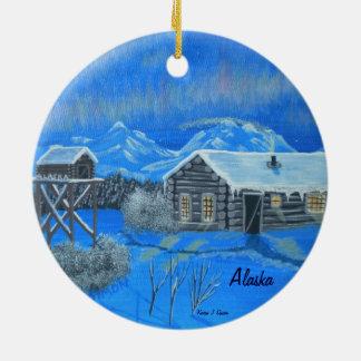 アラスカブッシュの家屋敷 セラミックオーナメント