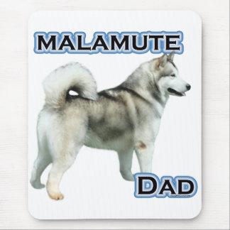 アラスカンマラミュートのパパ4 マウスパッド