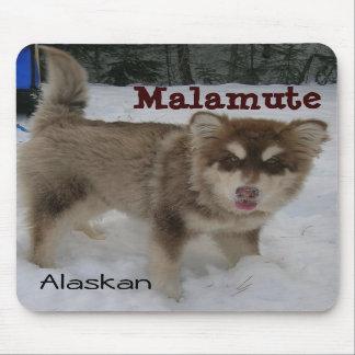 アラスカンマラミュートのマウスパッド マウスパッド