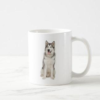 アラスカンマラミュートのマグ コーヒーマグカップ