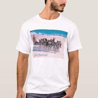 アラスカンマラミュートのワイシャツ Tシャツ