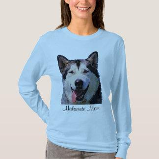 アラスカンマラミュートレディースTシャツ Tシャツ