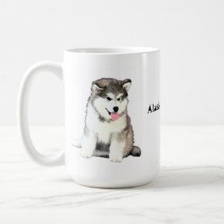 アラスカンマラミュート コーヒーマグカップ