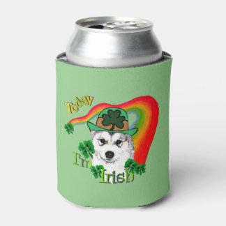 アラスカンマラミュートSaint patricks day 缶クーラー